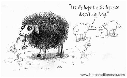 Illustration Friday: WOOL